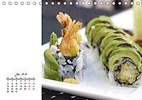Sashimi und Sushi. Japans Köstlichkeiten (Tischkalender 2019 DIN A5 quer) - Produktdetailbild 7