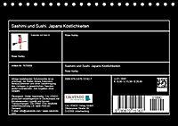 Sashimi und Sushi. Japans Köstlichkeiten (Tischkalender 2019 DIN A5 quer) - Produktdetailbild 13