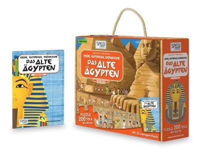 Sassi - Das Alte Ägypten - Puzzle 200tlg. und buch