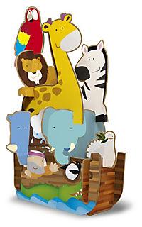 Sassi - Die Arche Noah - 3D-Riesenpuzzle und Buch - Produktdetailbild 1