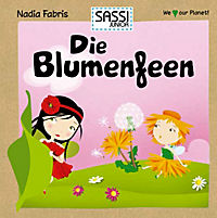 Sassi - Die Blumenfeen - Memo-Spiel und Buch - Produktdetailbild 1