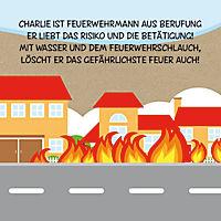Sassi - Die Feuerwehr - 3D-Riesenpuzzle und Buch - Produktdetailbild 5
