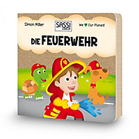 Sassi - Die Feuerwehr - 3D-Riesenpuzzle und Buch - Produktdetailbild 2