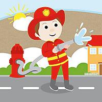 Sassi - Die Feuerwehr - 3D-Riesenpuzzle und Buch - Produktdetailbild 4