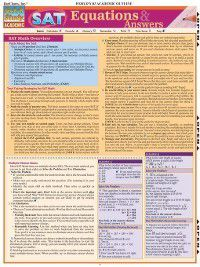 SAT Equations & Answers, Expert Editions