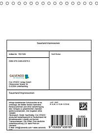 Sauerland Impressionen (Tischkalender 2019 DIN A5 hoch) - Produktdetailbild 13