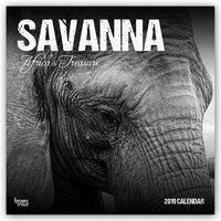 Savanna: Africa's Treasure 2019, BrownTrout Publisher