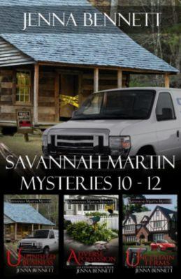 Savannah Martin Mysteries: Savannah Martin Mysteries 10-12, Jenna Bennett