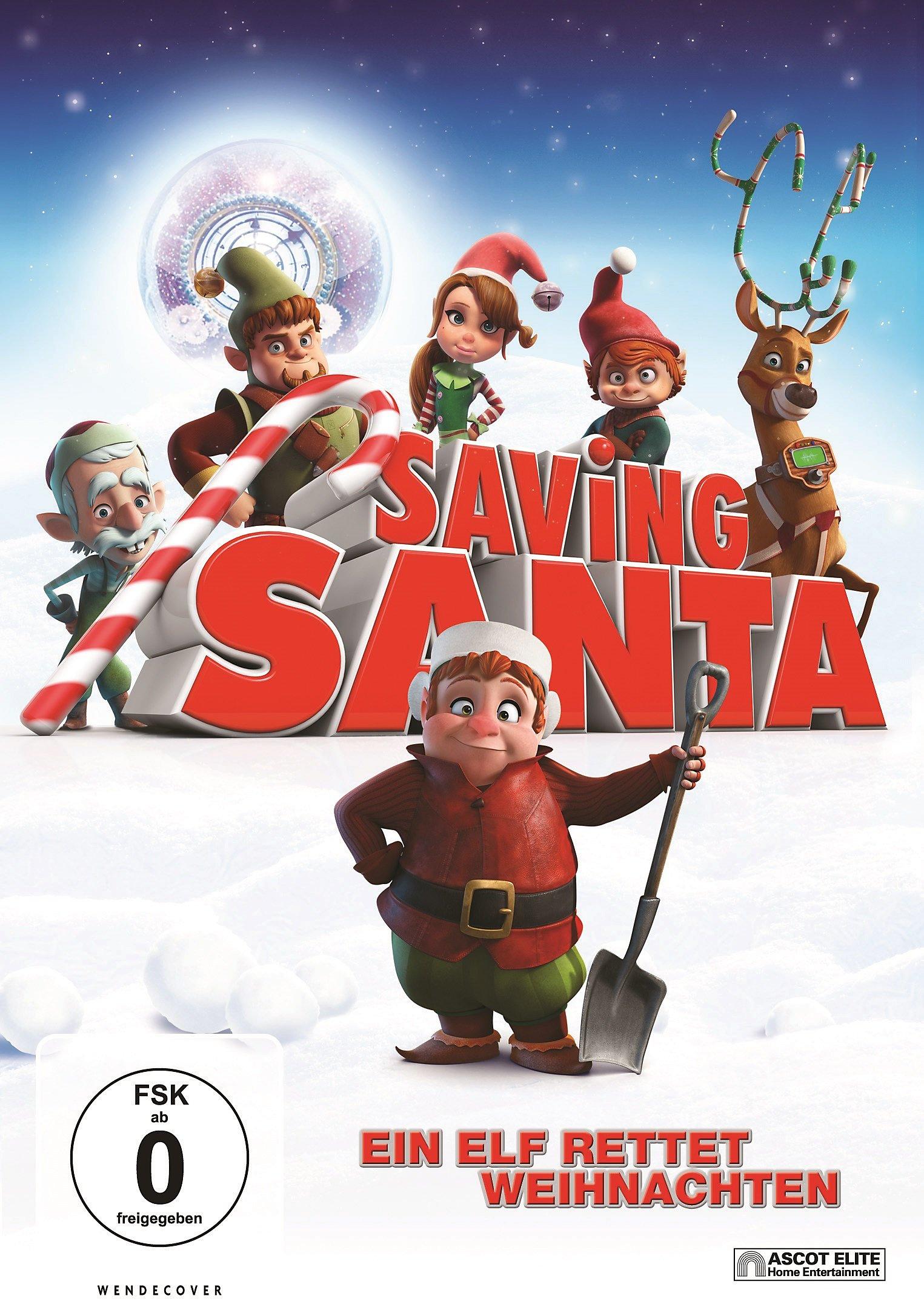 Saving Santa - Ein Elf rettet Weihnachten DVD | Weltbild.ch