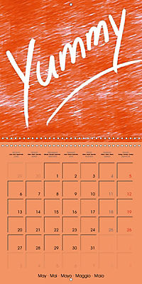 Say it with a smile (Wall Calendar 2019 300 × 300 mm Square) - Produktdetailbild 5
