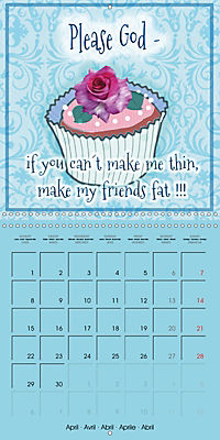 Say it with a smile (Wall Calendar 2019 300 × 300 mm Square) - Produktdetailbild 4
