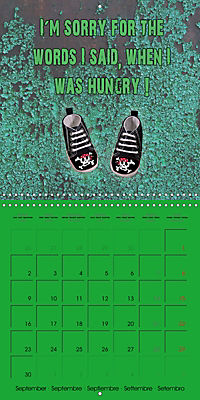 Say it with a smile (Wall Calendar 2019 300 × 300 mm Square) - Produktdetailbild 9