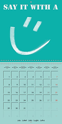 Say it with a smile (Wall Calendar 2019 300 × 300 mm Square) - Produktdetailbild 7