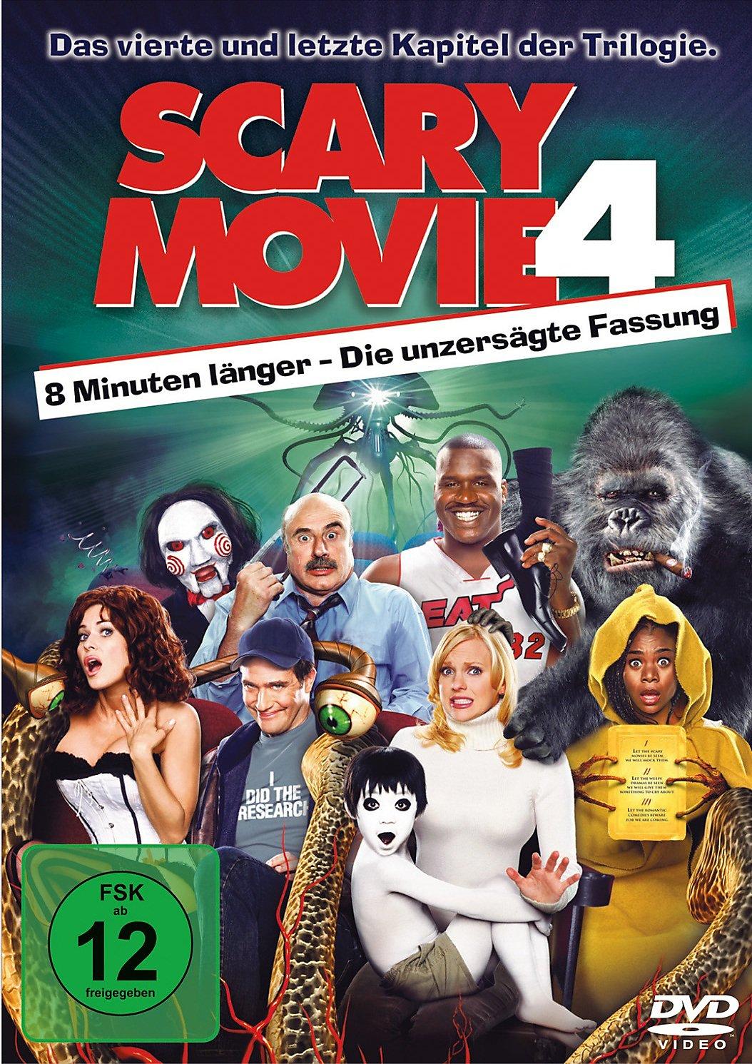 Scary Movie 4 DVD jetzt bei Weltbild.de online bestellen