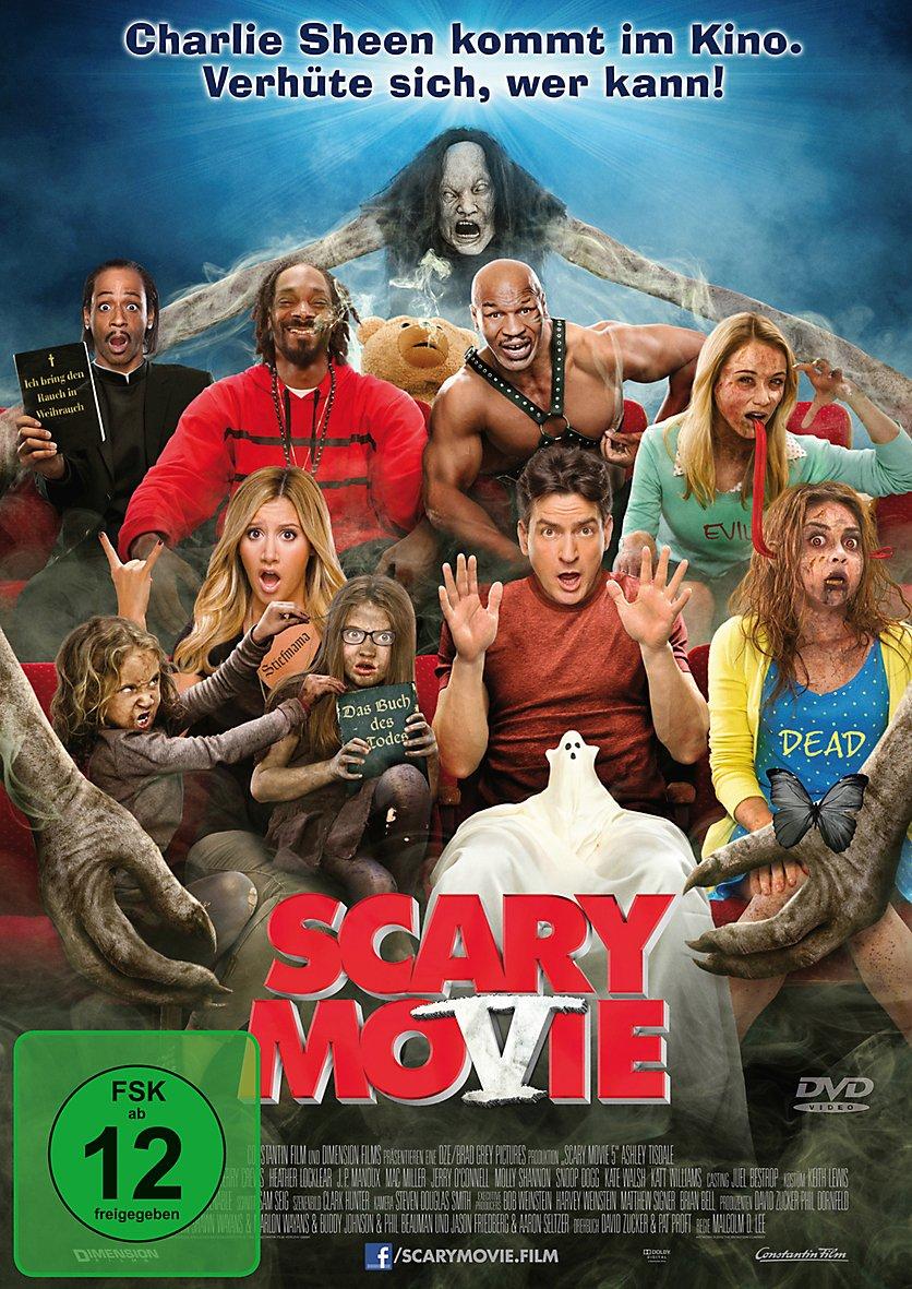 Scary Movie 5 DVD jetzt bei Weltbild.ch online bestellen