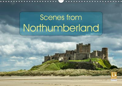 Scenes from Northumberland (Wall Calendar 2019 DIN A3 Landscape), Andrew Kearton