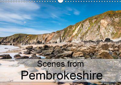Scenes from Pembrokeshire (Wall Calendar 2019 DIN A3 Landscape), Andrew Kearton