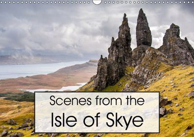 Scenes from the Isle of Skye (Wall Calendar 2019 DIN A3 Landscape), Andrew Kearton