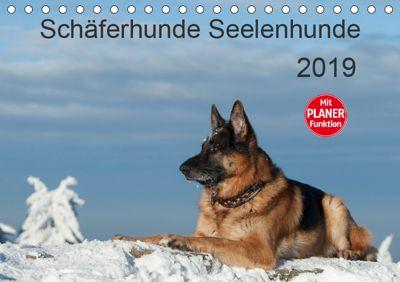 Schäferhunde SeelenhundeCH-Version (Tischkalender 2019 DIN A5 quer), Petra Schiller