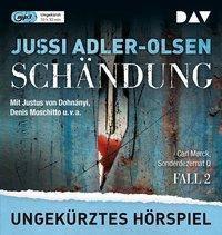 Schändung, 1 MP3-CD, Jussi Adler-Olsen