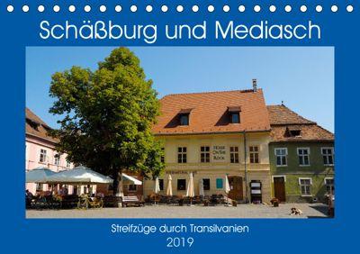 Schässburg und Mediasch - Streifzüge durch Transilvanien (Tischkalender 2019 DIN A5 quer), Anneli Hegerfeld-Reckert