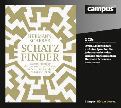 Schatzfinder, 2 Audio-CDs, Hermann Scherer