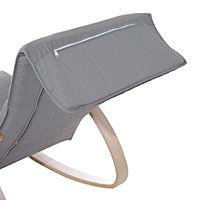 Schaukelstuhl (Farbe: grau) - Produktdetailbild 8