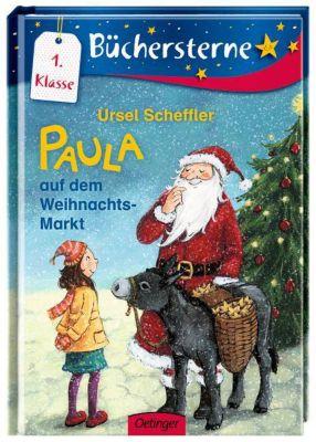 Scheffler, U: Paula auf dem Weihnachtsmarkt, Ursel Scheffler
