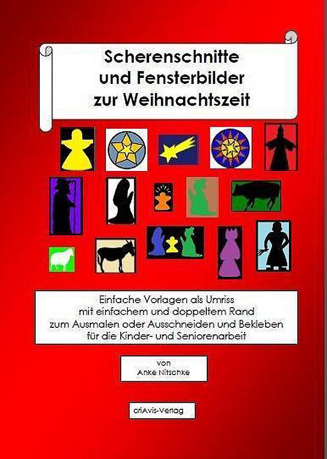 Scherenschnitte Und Fensterbilder Zur Weihnachtszeit Buch Kaufen