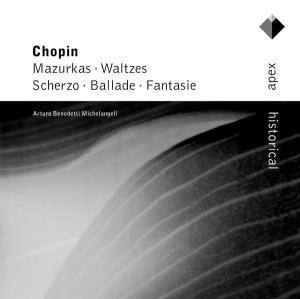 Scherzo Op.31,Ballata Op., Arturo Benedetti Michelangeli