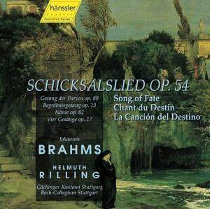Schicksalslied op. 54, CD, Rilling, Bach Collegium Stuttgart