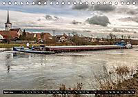 Schiffe auf dem Main - Wasserstrasse Main (Tischkalender 2019 DIN A5 quer) - Produktdetailbild 4