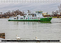 Schiffe auf dem Main - Wasserstrasse Main (Tischkalender 2019 DIN A5 quer) - Produktdetailbild 8
