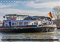 Schiffe auf dem Main - Wasserstrasse Main (Tischkalender 2019 DIN A5 quer) - Produktdetailbild 10