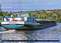 Schiffe auf dem Main - Wasserstrasse Main (Tischkalender 2019 DIN A5 quer) - Produktdetailbild 11
