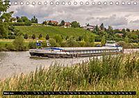 Schiffe auf dem Main - Wasserstrasse Main (Tischkalender 2019 DIN A5 quer) - Produktdetailbild 3