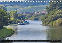 Schiffe auf dem Main - Wasserstrasse Main (Tischkalender 2019 DIN A5 quer) - Produktdetailbild 6
