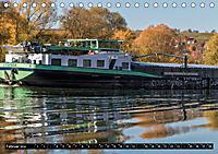 Schiffe auf dem Main - Wasserstraße Main (Tischkalender 2019 DIN A5 quer) - Produktdetailbild 2