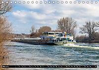 Schiffe auf dem Main - Wasserstraße Main (Tischkalender 2019 DIN A5 quer) - Produktdetailbild 5