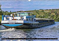 Schiffe auf dem Main - Wasserstraße Main (Wandkalender 2019 DIN A3 quer) - Produktdetailbild 11