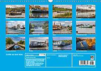 Schiffe auf dem Main - Wasserstrasse Main (Wandkalender 2019 DIN A3 quer) - Produktdetailbild 13