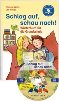 Schlag auf, schau nach! Jubiläums-Ausgabe: Wörterbuch, m. CD-ROM, Edmund Wetter, Ute Wetter