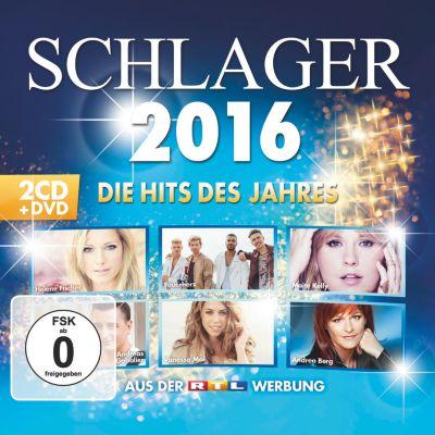 Schlager 2016 - Die Hits des Jahres (2 CDs + DVD), Various
