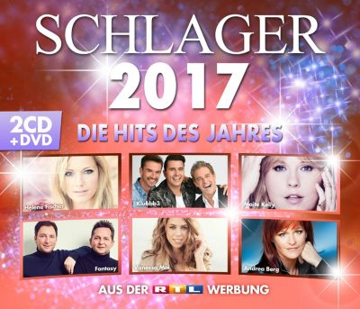 Schlager 2017 (2 CDs + DVD), Various