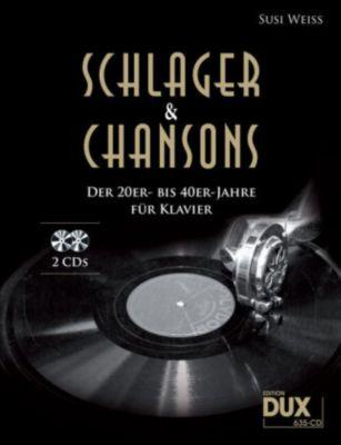 Schlager & Chansons der 20er- bis 40er-Jahre, für Klavier, m. 2 Audio-CDs -  pdf epub