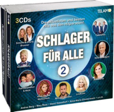 Schlager für Alle 2 (3 CDs), Diverse Interpreten