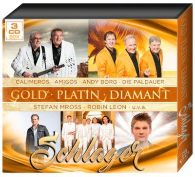 Schlager-Gold Platin Diamant, Diverse Interpreten