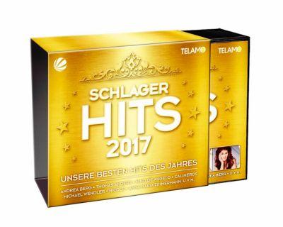 Schlager Hits 2017 (3 CDs + DVD), Diverse Interpreten
