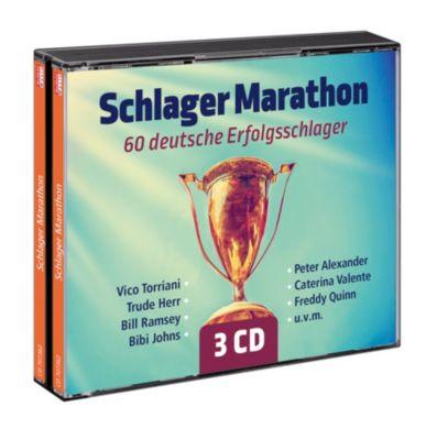Schlager Marathon/60 deutsche Erfolgsschlager, Diverse Interpreten