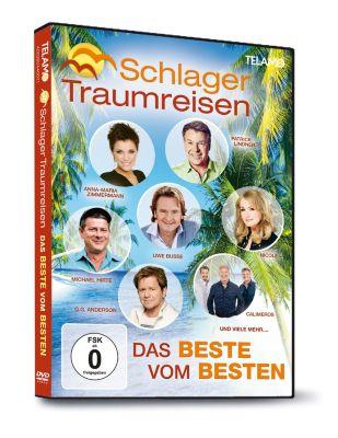 Schlager Traumreisen - Das Beste vom Besten (DVD), Diverse Interpreten